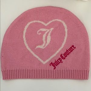 Juicy Couture pink beanie